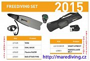 FREEDIVING SET MARES 41/42 Ano Ne