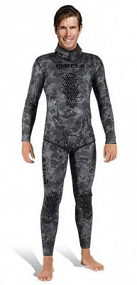 Neoprenový Oblek MARES Jacket EXPLORER CAMO BLACK 50 Open Cell - Spearfishing a FreeDiving 3 - M